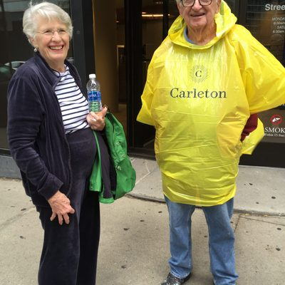 In case of rain... 1955 on their Mini Reunion to Chicago, September 2016.