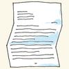 illustration of a letter