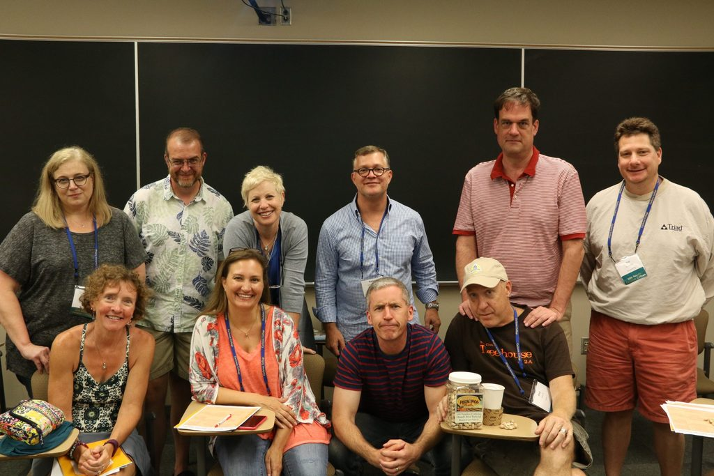1987 Reunion Committee at CAVE