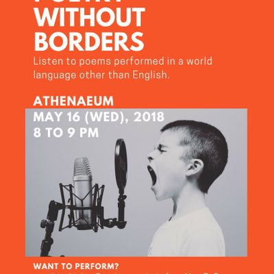 Poetry Without Borders 2018