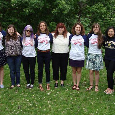 American Studies majors 2015