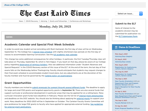 The East Laird Times