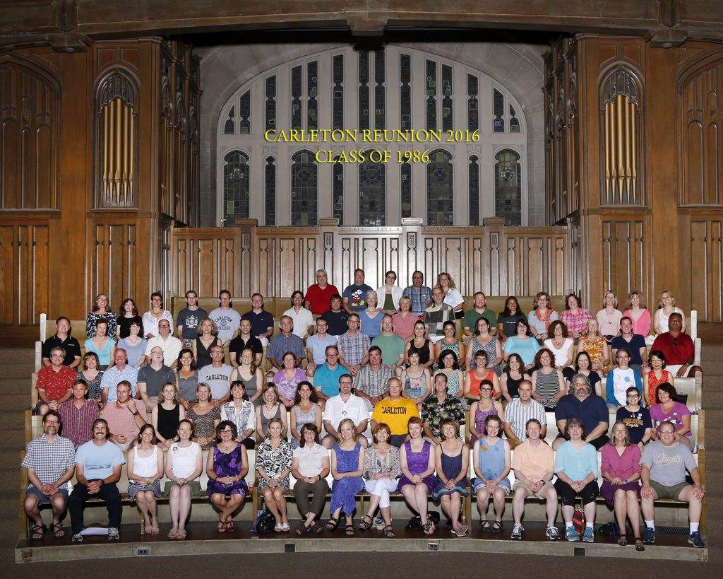Picture at their 30th Reunion