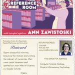 Ann Zawistoski's trading card, 2012-2015