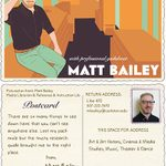 Matt Bailey's trading card, 2015-2016