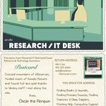 Research/IT Desk trading card, 2015-2016