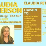 Claudia Peterson's trading card, 2018-19