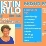 Kristin Partlo's trading card, 2018-19