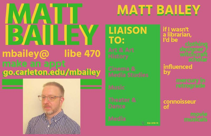 Matt Bailey's trading card, 2018-19