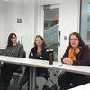Panel of Speech Language Pathologists. Left: Betsy Martinez '92, Lesley Sylvan '02, Heather Scott '82