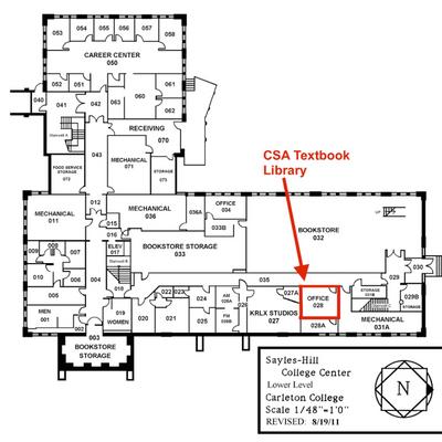 CSA Textbook Library Location