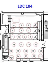 LDC 104 Seating Assignment