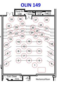 Olin 141 Seating Assignment