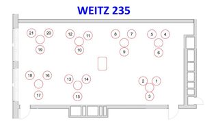 Weitz 235 Seating Assignment Layout