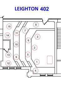 Leighton 402 Seating Assignment