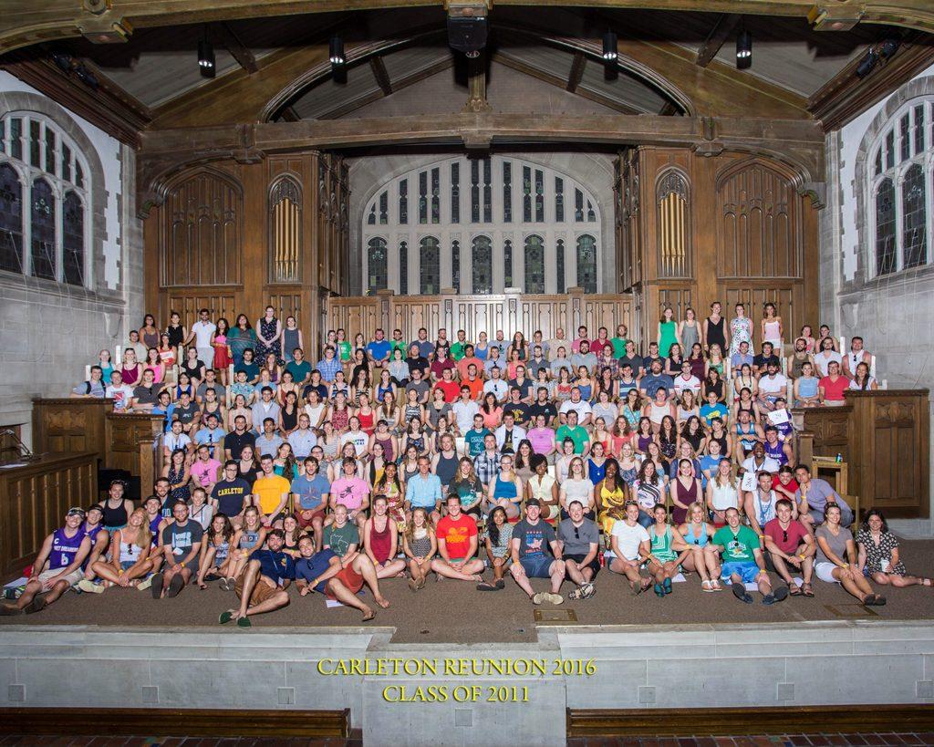 Class of 2011 Reunion 2016 Class Photo