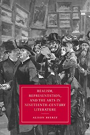 """Book cover: """"Realism, Representation, and the Arts in Nineteenth-Century Literature"""""""
