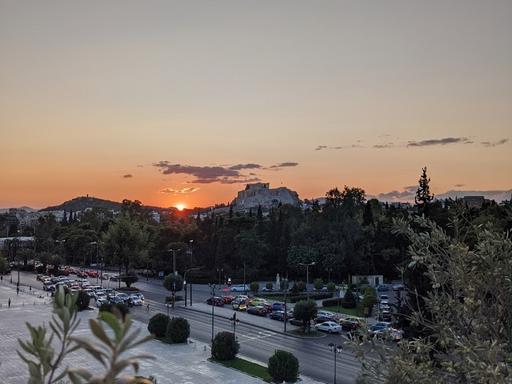 Acropolis viewed from CYA rooftop