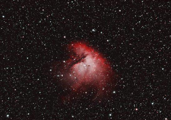 NGC 281: Pacman Nebula (2.8 hours)