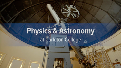 Physics & Astronomy at Carleton