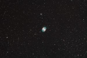A picture of Dumbell Nebula