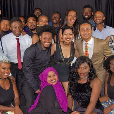 Members of the African and Caribbean Student Association (ACA)
