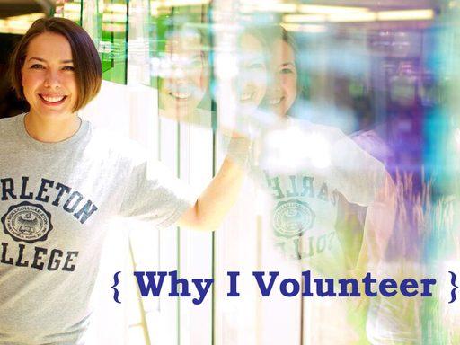 Why I Volunteer