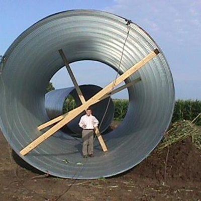 turbine foundation construction
