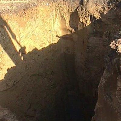 turbine foundation hole
