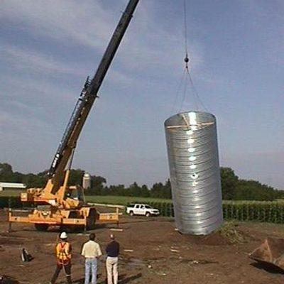 turbine foundation tube