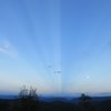 Anticrepuscular Rays - not from Chile!