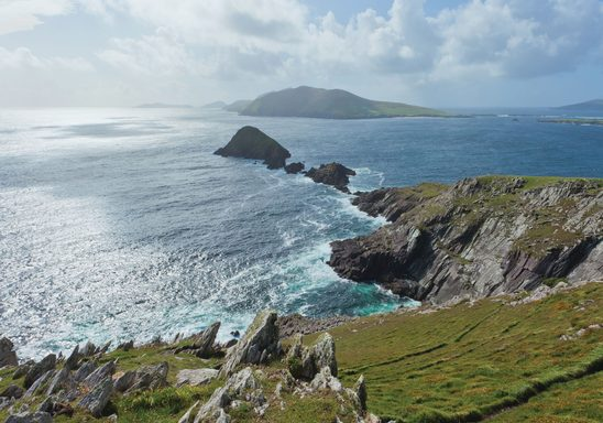 Dingle coastline View of Blaskets
