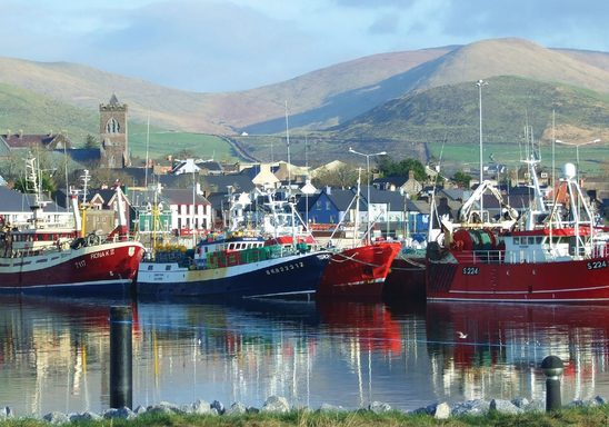 Marina on the Southern Peninsula, Dingle