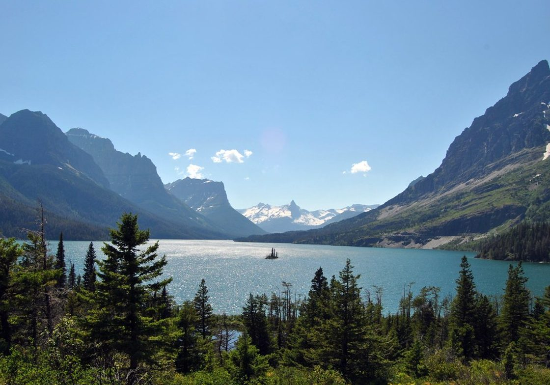Wild Goose Island - Glacier National Park, Montana