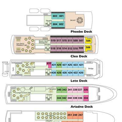 Deck plan for the Corinthian.