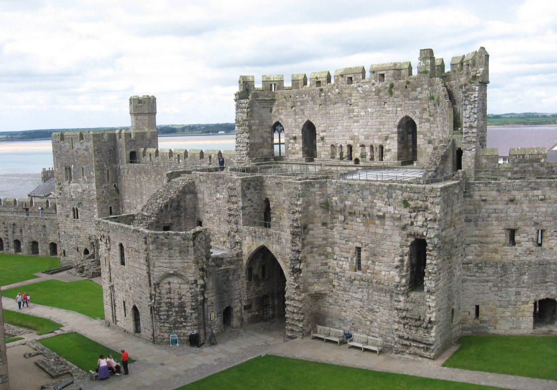 Caernafon Castle.