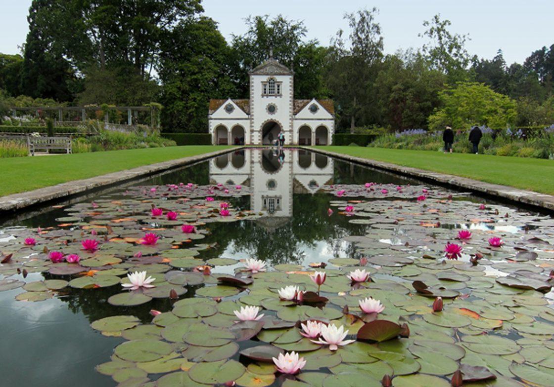 Canal Terrace at Bodnant Gardens.