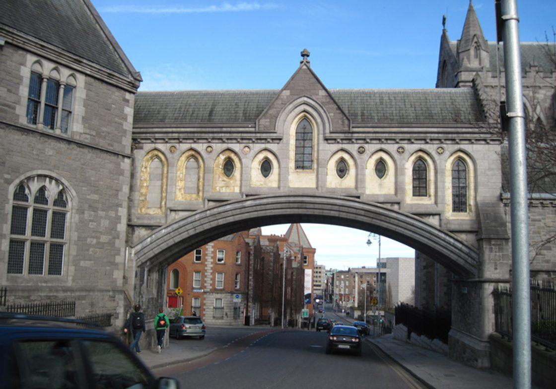 Building Bridge, Dublin, Ireland.
