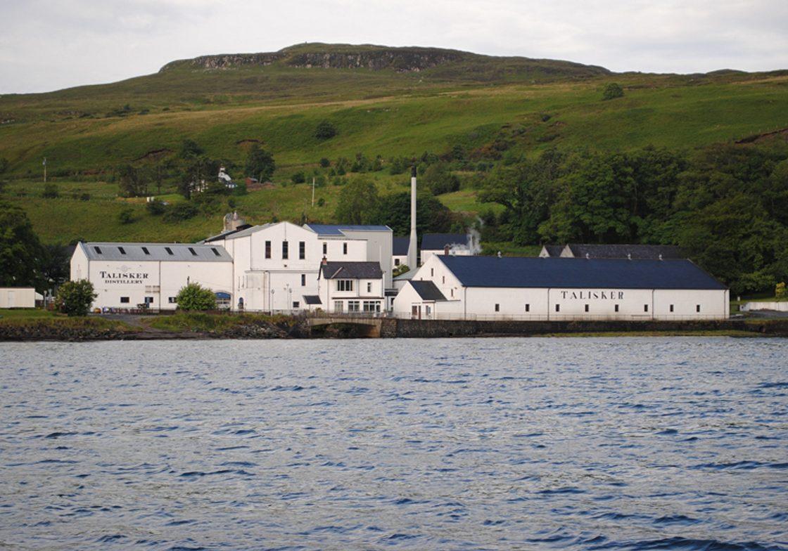 Talisker Distillery, Isle of Skye.