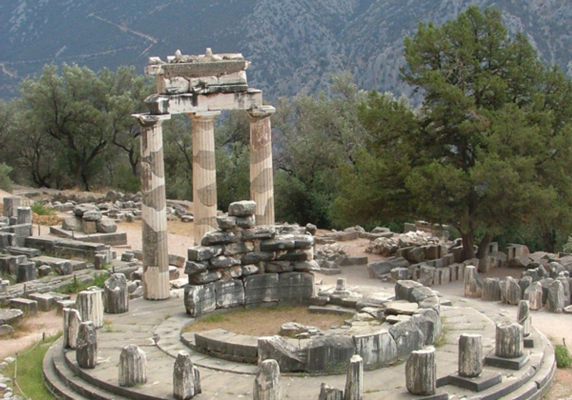 The Tholos at the sanctuary of Athena Pronoia, Delphi