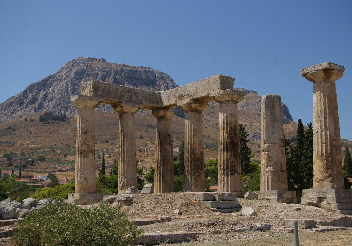 The Temple of Apollo, Corinth