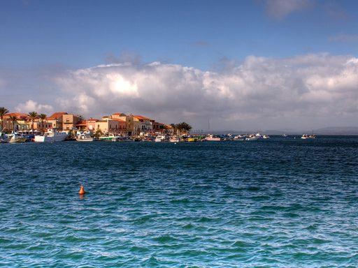 City of Sant'Antioco, Sardinia.