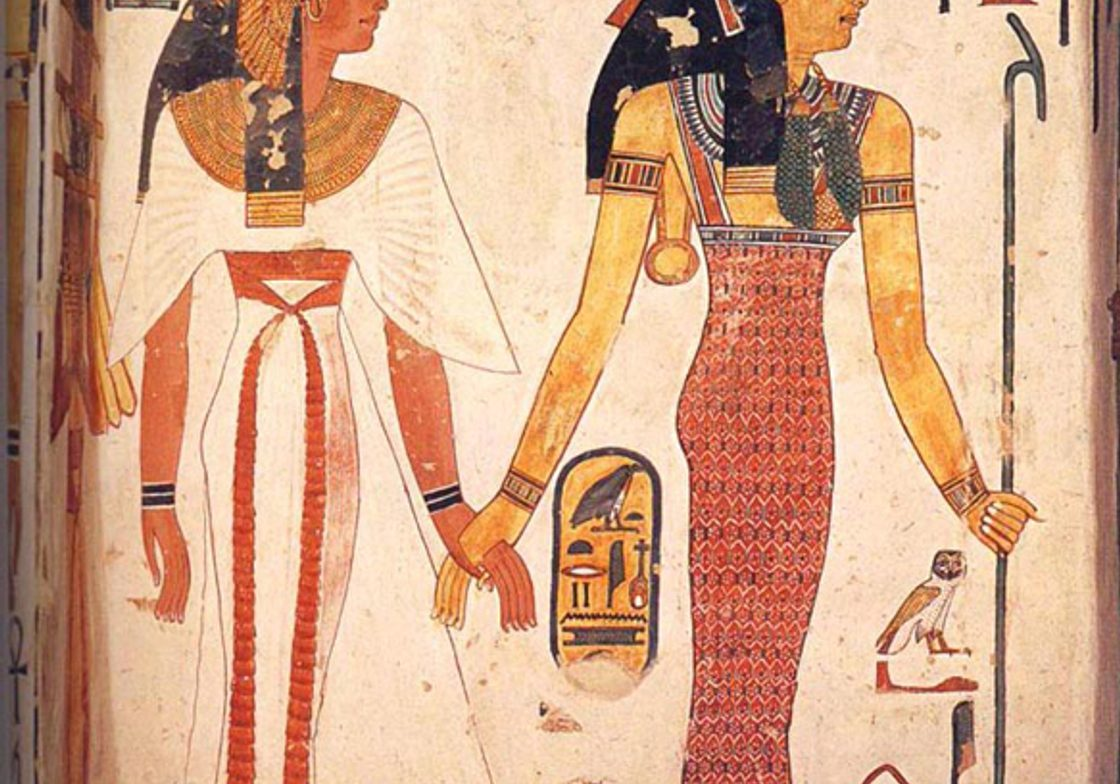 An image from within the Tomb of Nefertari (closed to the public)