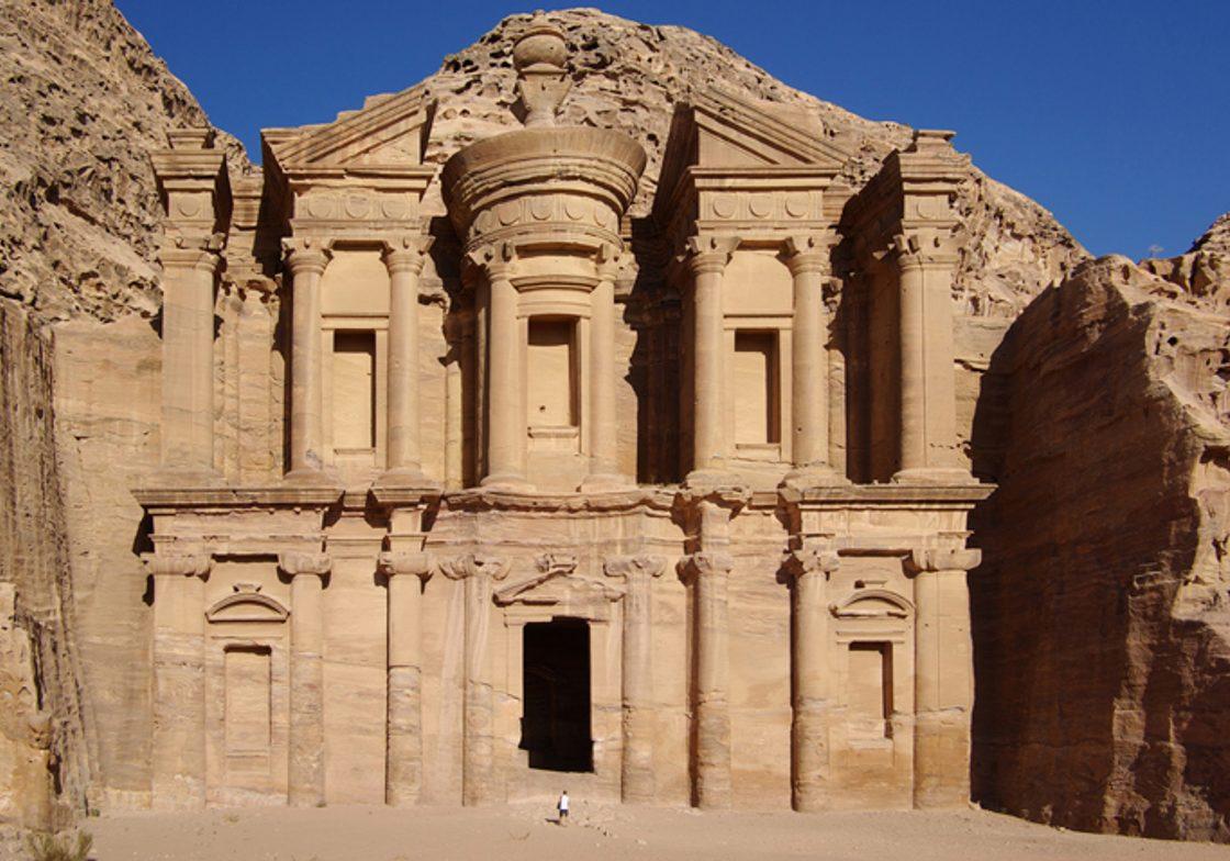 """The massive """"Monastery"""" at Petra, Jordan"""