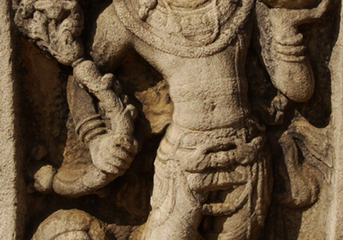Sculptural detail, Kelaniya Temple