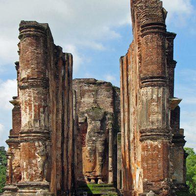 The Lankatilaka at Polonnaruwa