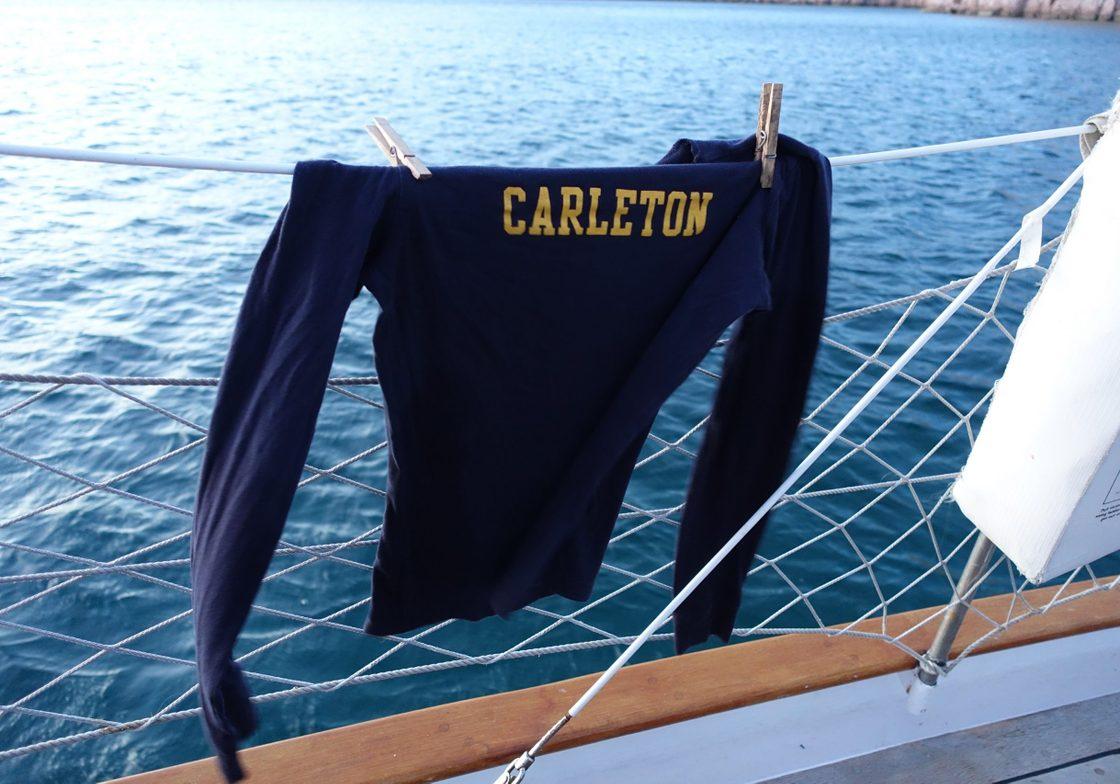 Laundry aboard the Seaward