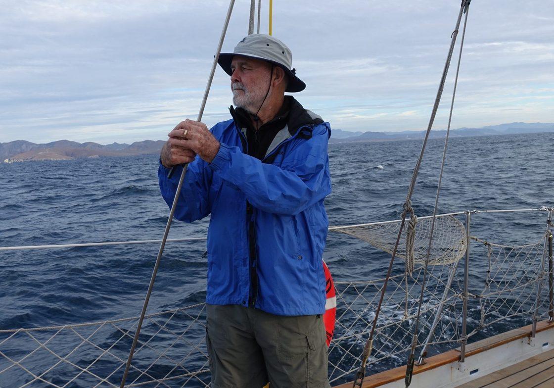 Perry Mason aboard Seaward