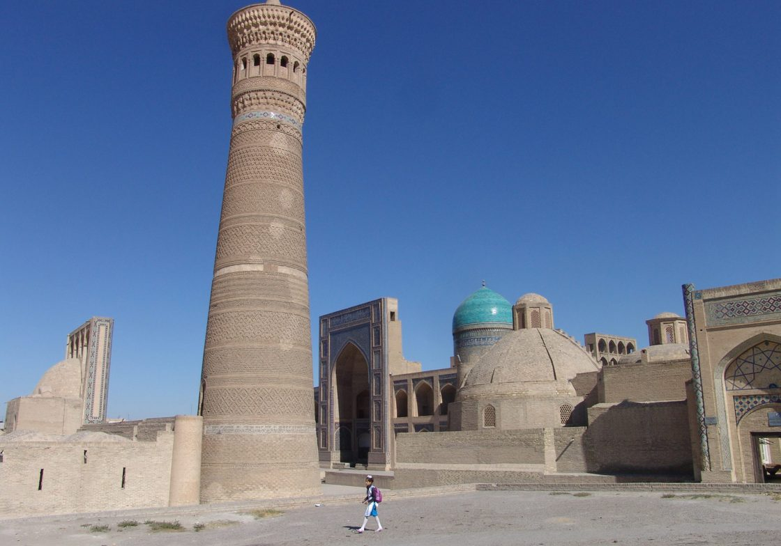 Bukhara's Poi Kalon complex