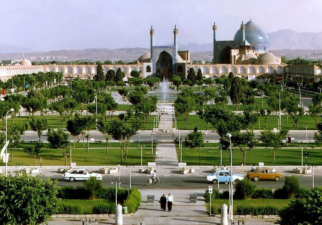 Naghshe Jahan Square, Isfahan, Iran.